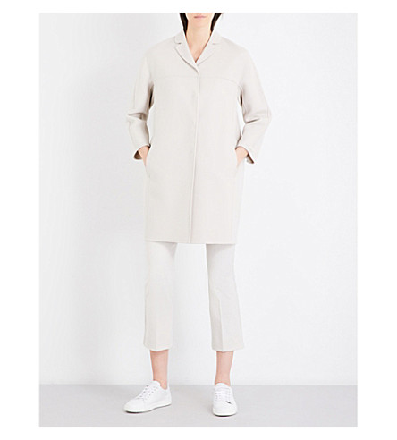 S MAX MARA Ada wool coat (Ice