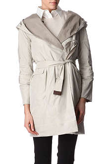 S MAX MARA CUBE Reversible pack-away coat