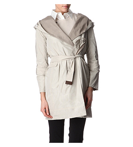 S MAX MARA CUBE Reversible pack-away coat (Light