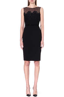 MAX MARA PIANOFORTE Sleeveless crepe dress