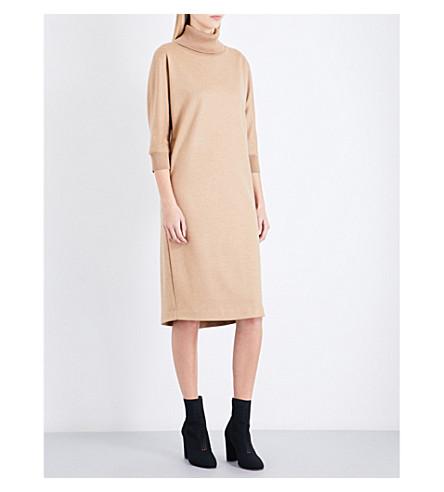 MAX MARA Agro wool jumper dress (Camel