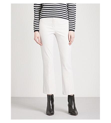 S MAX MARA Agrume straight-leg woven trousers (Ivory