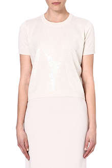 MAX MARA STUDIO Sequin silk-blend jumper