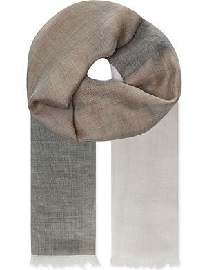 MAX MARA Silk-cashmere scarf