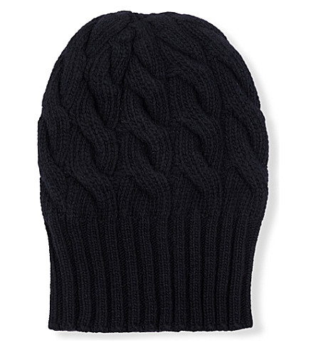 MAX MARA Albero wool and cashmere hat (Black
