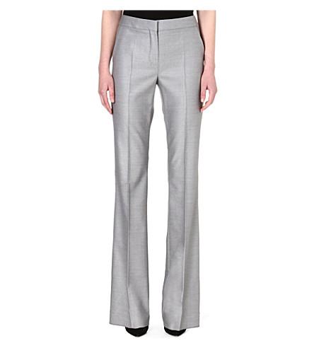 MAX MARA Alessia wide-leg trousers (Silver