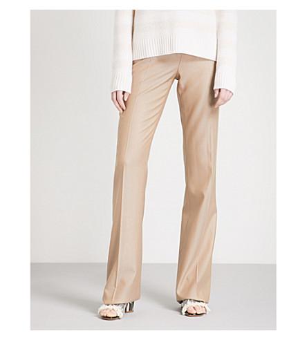 MAX MARA Alessia wool-blend trousers (Camel