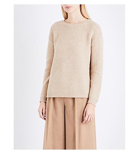 MAX MARA Alfeo wool-blend jumper (Beige