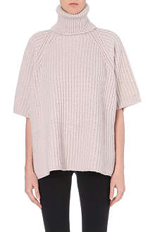 SPORTMAX Knitted turtleneck swing jumper