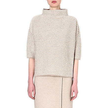 MAX MARA Alton high-neck jumper (Beige