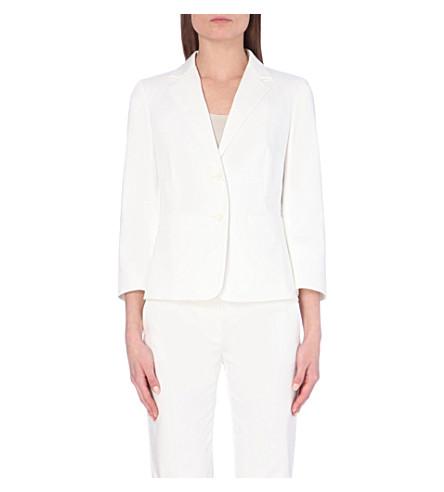 MAX MARA Stretch-cotton jacket (White