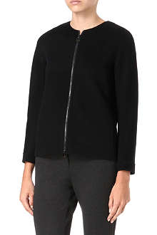 S MAX MARA CUBE Ande collarless jacket