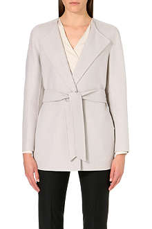 MAX MARA Long-sleeve wrap coat