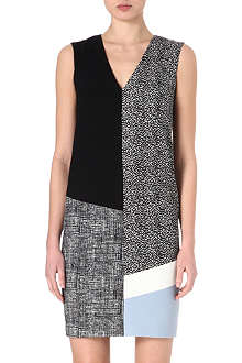 MAX MARA Angelo block-panel dress