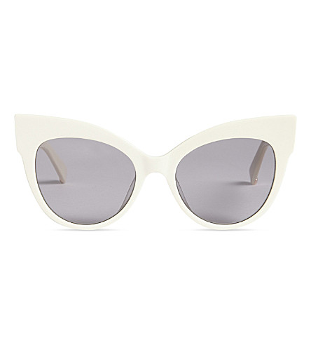 MAX MARA Anita cat-eye sunglasses (Ivory