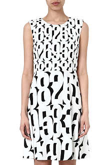 SPORTMAX Numbers shift dress