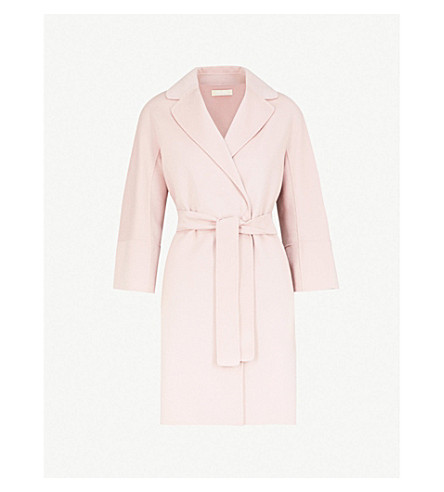 S MAX MARA Arona wool coat (Antique+rose