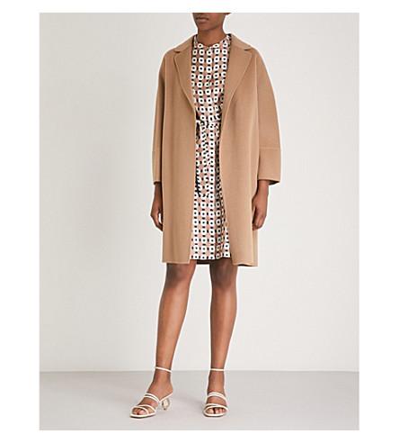S MAX MARA Arona wool coat (Camel