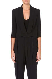 MAX MARA PIANOFORTE Assiro cropped crepe jacket