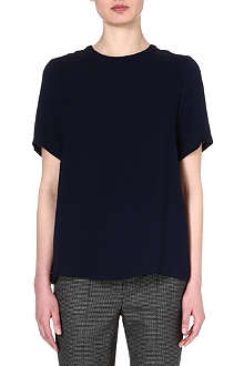 SPORTMAX Astro silk top