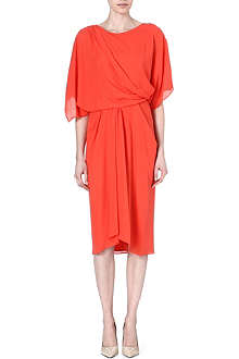 MAX MARA PIANOFORTE Ausonia sheer-sleeved dress