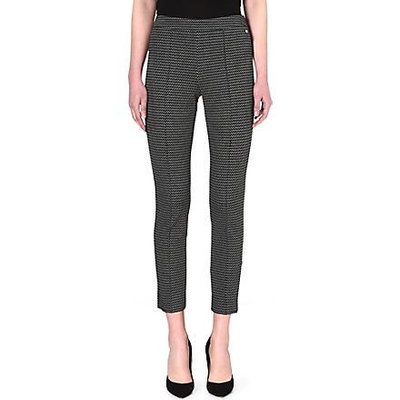 MAX MARA Avana patterned trousers (Sand