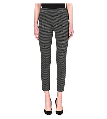 MAX MARA Avana patterned trousers (Sand