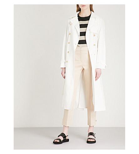 MAX MARA Azeglio linen coat (White
