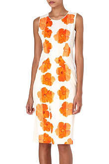 SPORTMAX Azulene floral-print dress