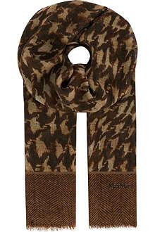 MAX MARA Marble swirl scarf