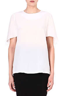 SPORTMAX Bassano cape-sleeve top