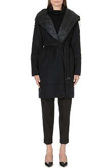 MAX MARA CUBE Belted wool coat