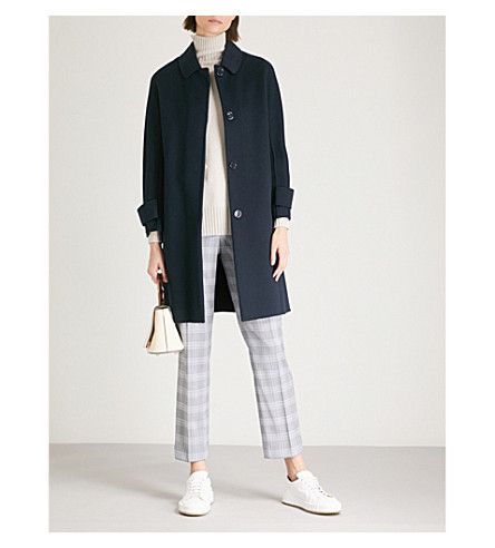 BERTO WOOL COAT