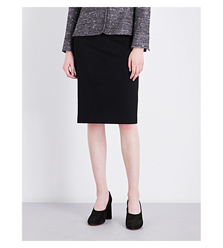 MAX MARA Bill wool skirt (Black