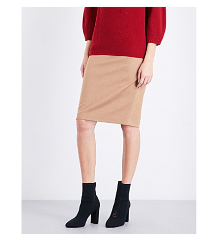 MAX MARA Bill wool skirt (Camel