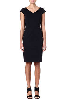 MAX MARA Cap-sleeved shift dress