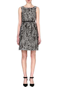 MAX MARA STUDIO Blocco leopard-print dress