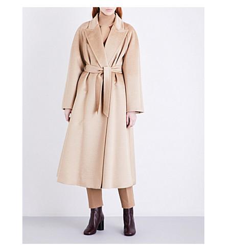 MAX MARA Bormio crepe midi skirt (Camel