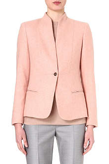 MAX MARA Collarless cashmere jacket