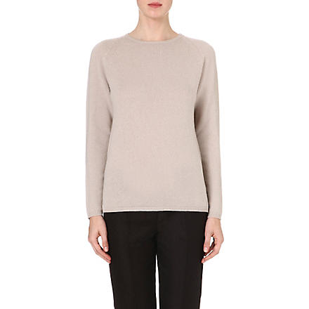 S MAX MARA Knitted cashmere jumper (Ice