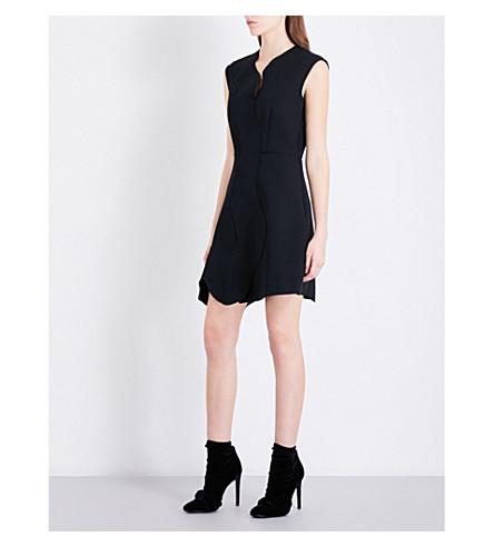 SPORTMAX Cammeo gabardine dress (Black