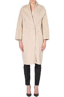 MAX MARA Cashmere slim-wrap coat