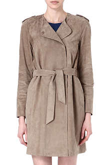 S MAX MARA Capua leather coat