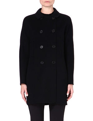 S MAX MARA Caramba double-breasted funnel coat