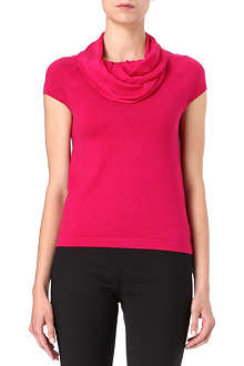 MAX MARA STUDIO Knitted cowl-neck top