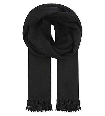 MAX MARA Cecina alpaca scarf (Black