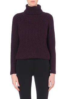 SPORTMAX Knitted turtleneck jumper