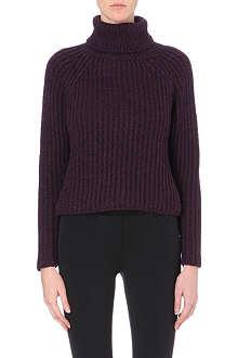 SPORTMAX Knitted turtleneck jumper