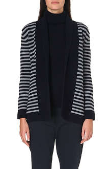 MAX MARA Cicala striped wool and cashmere-blend cardigan