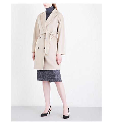 MAX MARA Civada double-breasted cashmere coat (Beige